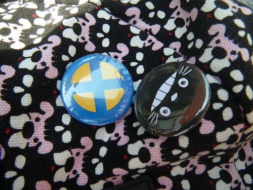 Chapas de Totoro y de la Patrulla X