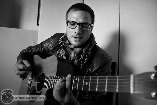 Jesse LaMonaca at Dirty Blvd Studio 40911 © Michael Klayman-003
