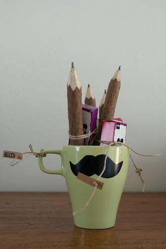 Potloden voor de vriendjes van de klas