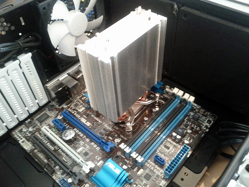 Big shiny heatsink