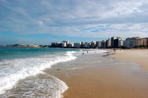 Back to Copacabana beach!