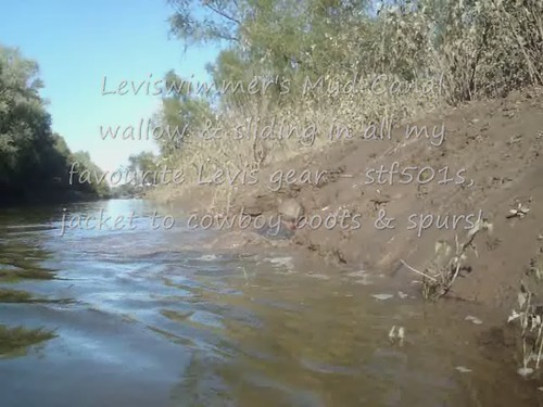 LS Leviswimmer's River Mud Canal wallow & sliding in stf501s & gear