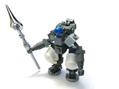 "Maltico Industries ""Maelstrom"" (ernald) Tags: brick robot lego helmet brickarms"