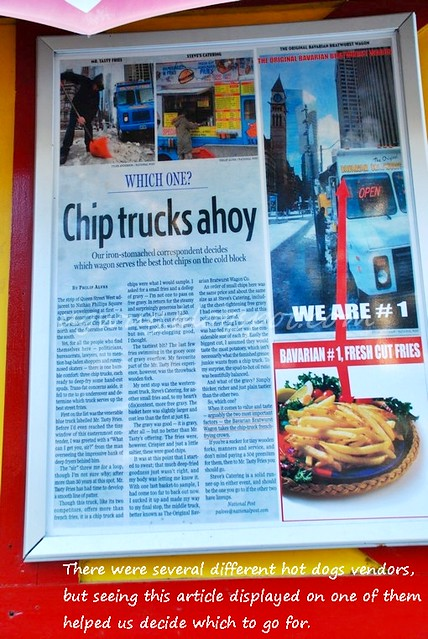 Article Displayed on Truck