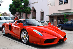 Ferrari Enzo (GHG Photography) Tags: red speed italian fast automotive ferrari exotic rare coupe supercar fastest sportscar horsepower v12 hypercar