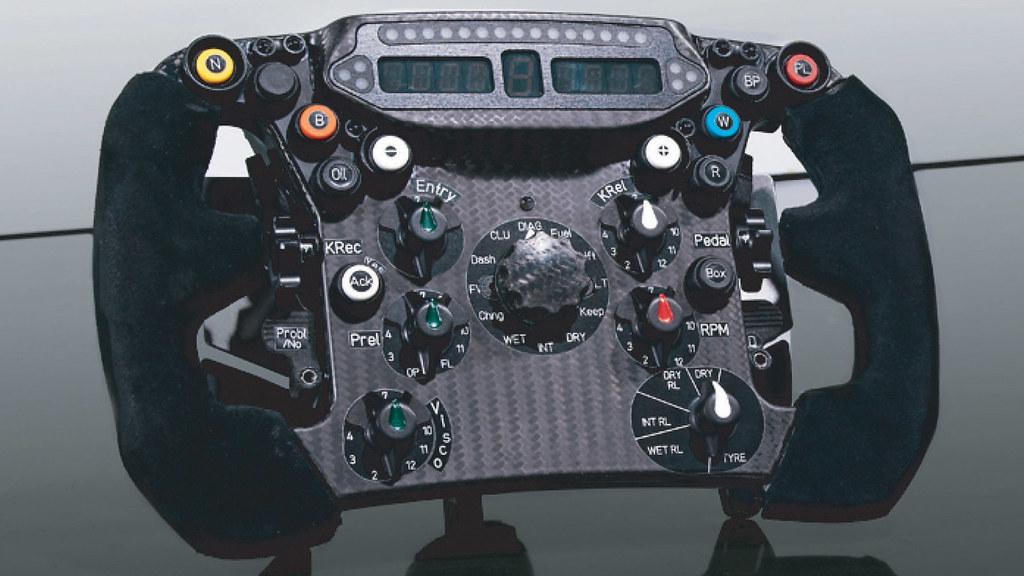 Sauber F1 Steering Wheel 2011