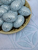 Light Blue (Of Spring and Summer) Tags: blue stilllife white inspiration art home thread vintage silver easter photography design embroidery antique interior creative bowl fabric romantic antiques cottagestyle fabrics eastereggs tablecloths chocolateeggs shabbychic ofspringandsummer
