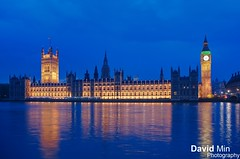 London, England - Palace of Westminster (GlobeTrotter 2000) Tags: uk travel blue wedding vacation england house london tourism westminster thames wales night river gold big europe ben britain kate united great kingdom parliament prince william palace hour middelton tamise