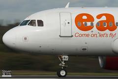 G-EZBJ - 3036 - Easyjet - Airbus A319-111 - Luton - 101021 - Steven Gray - IMG_3967