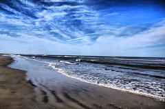 Beach Beauty HDR (Bill Boland Photography) Tags: ocean new city blue sea sky beach nature water beauty clouds canon eos bay sand waves playa jersey stoneharbor mm oceancity isle avalon 18135 60d bboland67 billboland