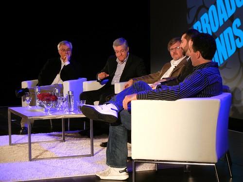Brodcast Minds 2011 - Laporte, Hellmuth, Schumacher-Rassmussen, Fratto & Carolla