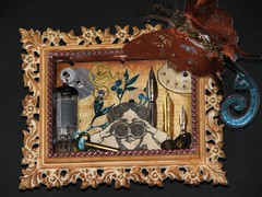 Alarm Clock Steampunk Collage 030