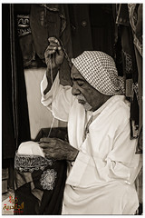 Tailor  (Fawaz Abdullah) Tags: old portrait eastern region tailor antiquity handcrafts             laser707 fawazabdullah
