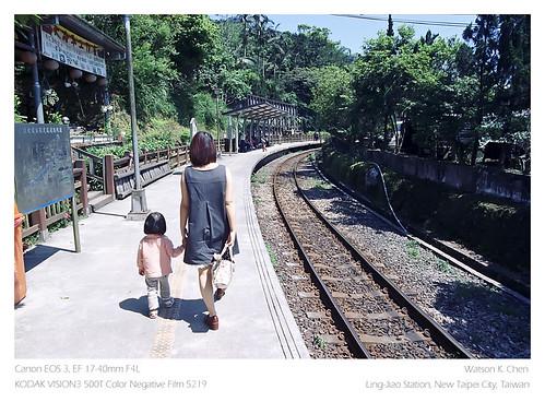 20110424@嶺腳火車站