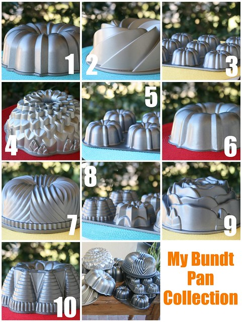 Food Librarian Bundt Pan Collection