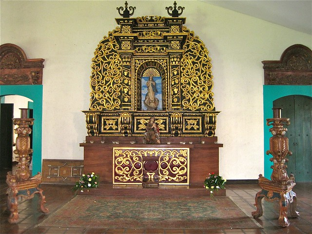 altar in hotel el convento leon nicaragua