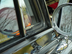 Mirror Images (Cleo Blue) Tags: reflection classic ford car mercury mirrors coupe meteor 1965 montcalm