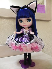 My new Blythe Can Can Cat