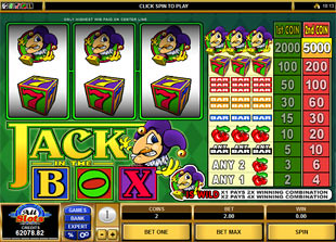 Jack in the Box slot game online review