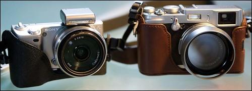 Fuji X100 Sony NEX-5 16mm f/2.8