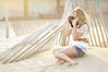(Danielle Pearce) Tags: light sun film beach girl fashion photography nikon pretty sitting photographer bright bokeh d5000