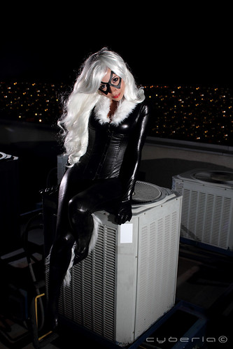 Black Cat (Felicia Hardy) & Black Cat (Felicia Hardy) - a photo on Flickriver