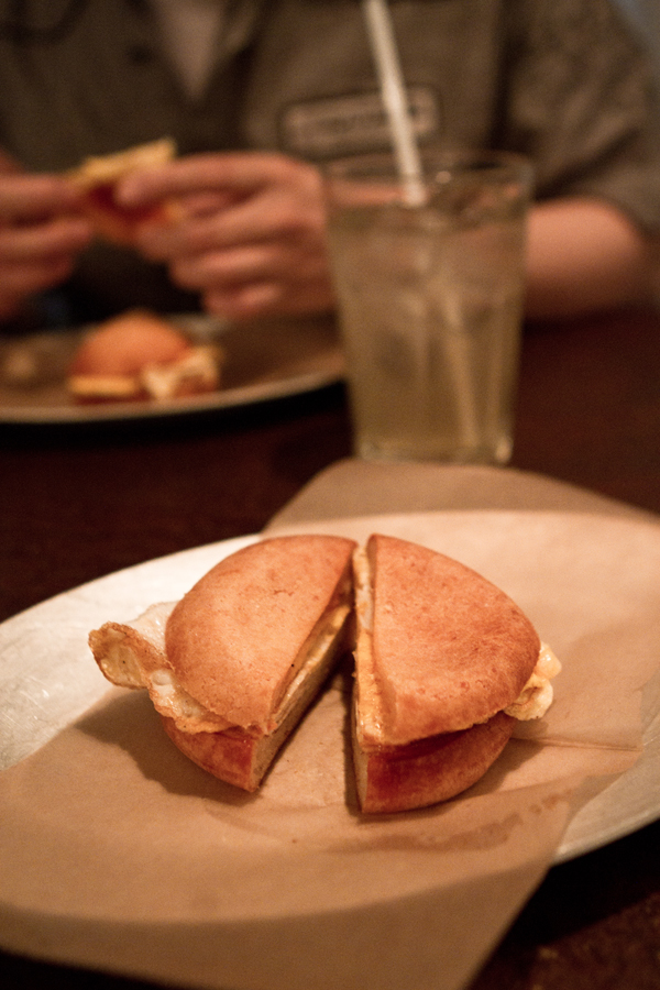 breakfest sandwich!
