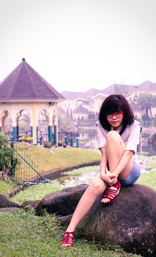 Natalia in Kota Bunga #4