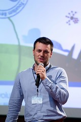 Roberto Aguilar durante la III Tourism Revolution Convention