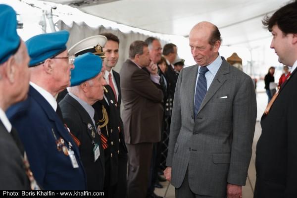 Российские ветераны и Герцог
