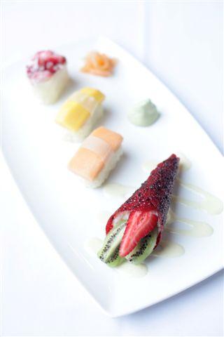 Dessert-Sushi