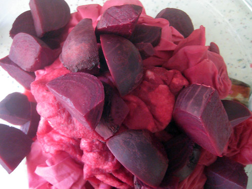 beets & pomegrante juice