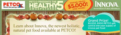 Petco Healthy 5 Sweepstakes