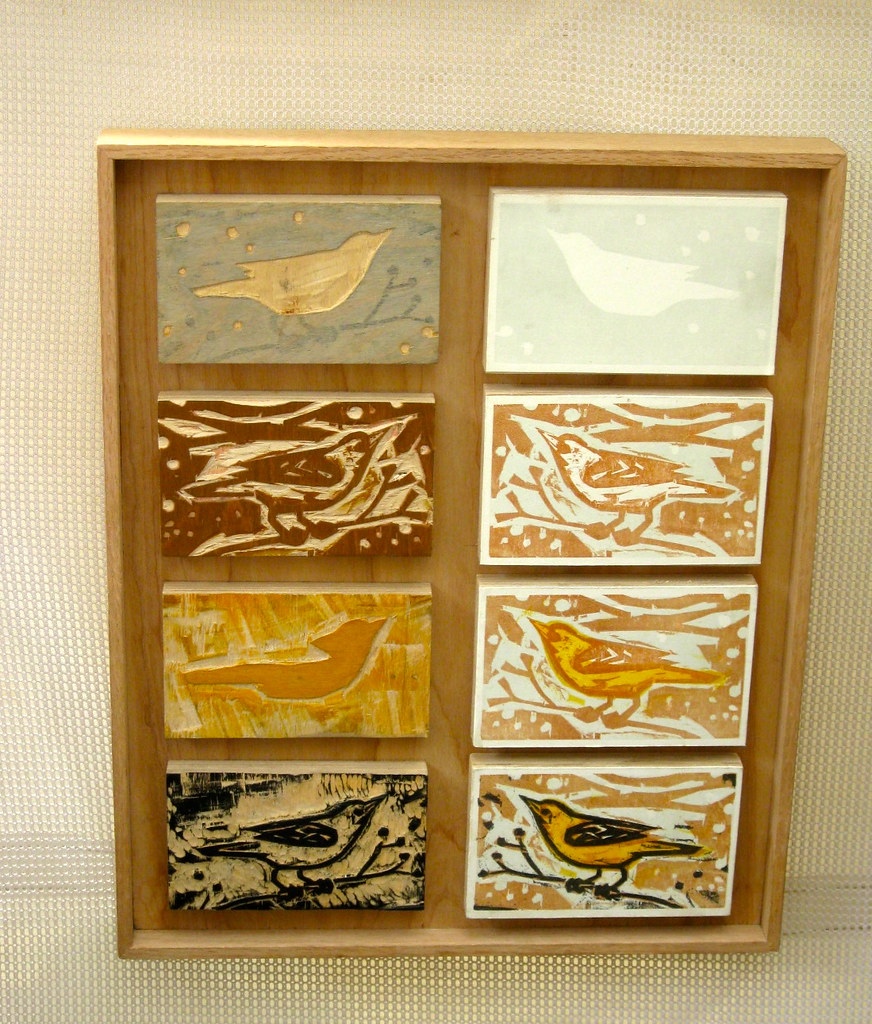 Woodblocks by Kent Ambler