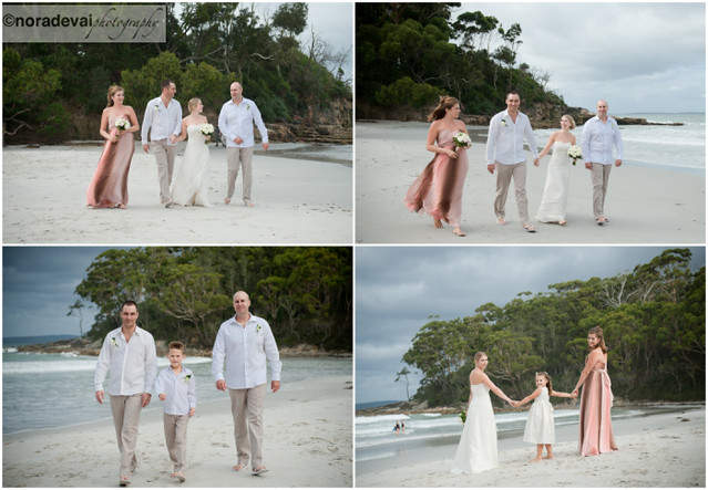 Jervis Bay Beach wedding 141