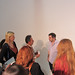 Marieke Hensel & crowd with Gary Vaynerchuk at #LinkedOC