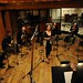 Brigitte Zarie recording Live session at Avatar studio NY