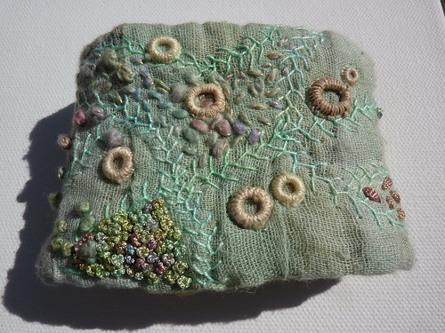 Handmade embroidered cuff