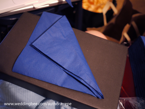 The Wedding Is 925 Miles Away Paper Napkin Folding Tutorial