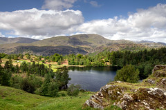 Tarn Hows (rosyrosie2009) Tags: uk england mountains water beautiful landscape photography countryside nikon photos lakes lakedistrict beatrixpotter wideangle explore tamron nationaltrust hdr langdales tarnhows hawkshead photomatix conistonwater devonandcornwall d5000 rosiesphotos nikond5000 tamronspaf1024mmf3545diiildasphericalif rosiespooner rosyrosie2009 rosemaryspooner rosiespoonerphotography