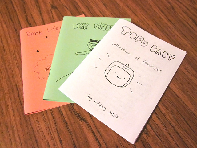 Some of my zines.