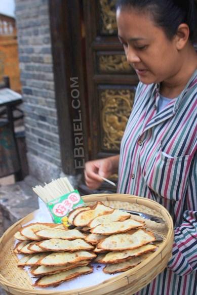 Lijiang: fish on a stick