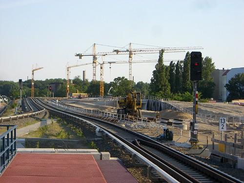 Gleisbau der Ring-S-Bahn hat begonnen