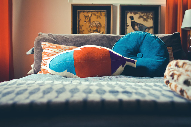 Lucky Feather Pillow