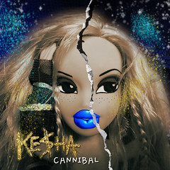 Cloe - Ke$ha Cannibal  Album Cover ;) (bunnyboo83) Tags: party animal angel doll album cover cannibal bratz cloe kesha keha