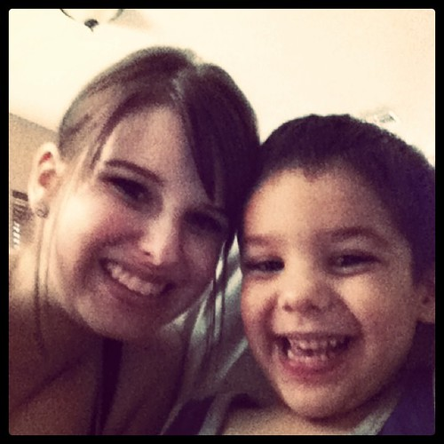 Auntie and Kole!