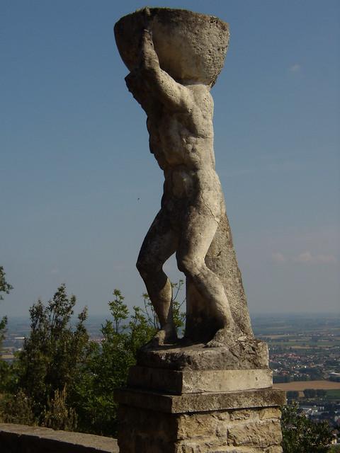 Statua di Ercole - Monte Ricco - Monselice