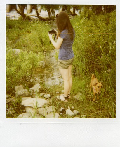 Polaroid - Astrid & Grace + photo-taking