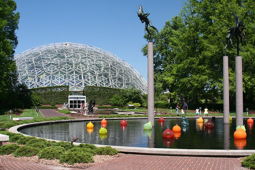 pond and Climatron