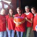 API students volunteering at a local orphanage in Costa Rica - spring 2011